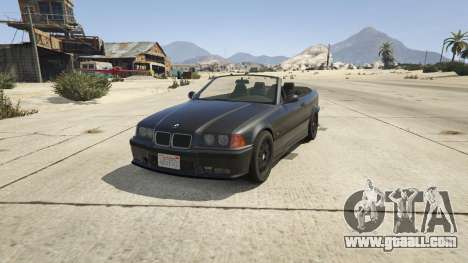BMW M3 E36 Cabriolet 1997 for GTA 5