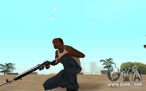 Rifle with a tiger cub for GTA San Andreas forth screenshot