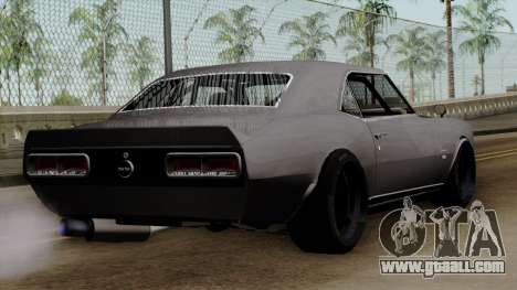 Chevrolet Camaro SS for GTA San Andreas left view