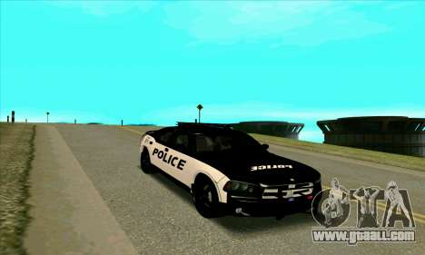 Federal Police Dodge Charger SRT8 for GTA San Andreas