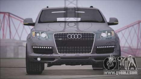 Audi Q7 2008 for GTA San Andreas left view