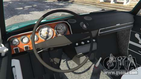 GTA 5 VAZ-2106 v0.2 rear right side view