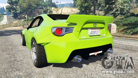 Toyota GT-86 Rocket Bunny v1.1 for GTA 5