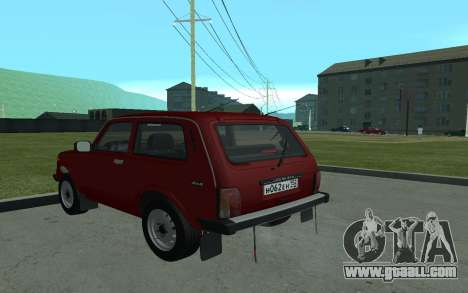 VAZ Niva 21213 for GTA San Andreas back left view