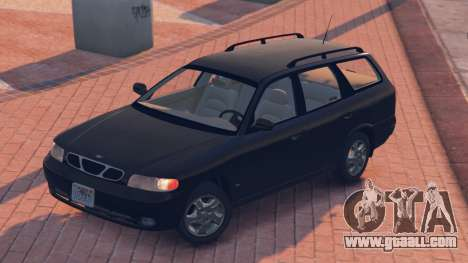 GTA 5 Daewoo Nubira I Wagon US 1999 - FINAL version rear left side view