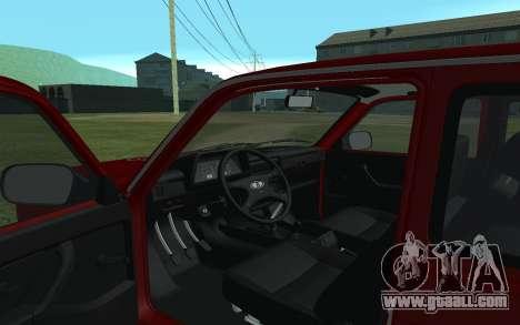 VAZ Niva 21213 for GTA San Andreas back view