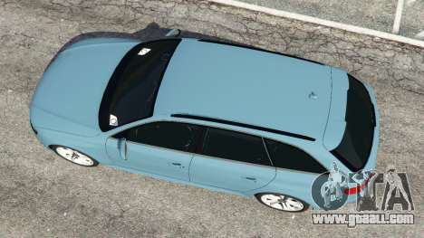 GTA 5 Audi A4 Avant 2013 back view