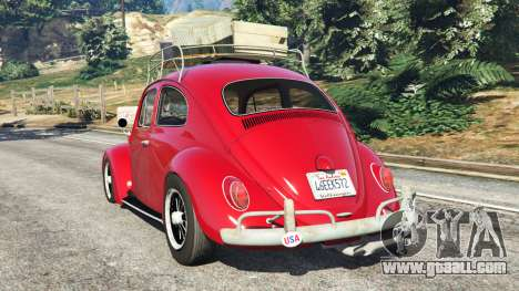 GTA 5 Volkswagen Beetle 1963 [Beta] rear left side view
