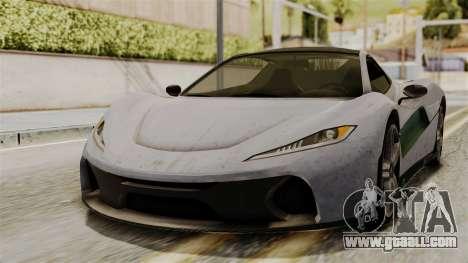 GTA 5 Progen T20 SA Style for GTA San Andreas
