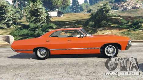 GTA 5 Chevrolet Impala 1967 left side view