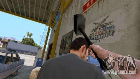 Hammer Shao Kahn from Mortal Kombat for GTA 5