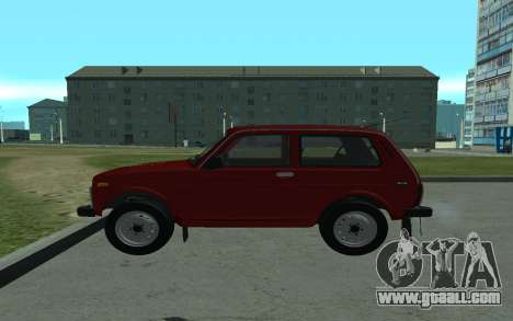VAZ Niva 21213 for GTA San Andreas left view