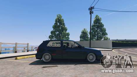 GTA 5 Volkswagen Golf MK3 GTi left side view