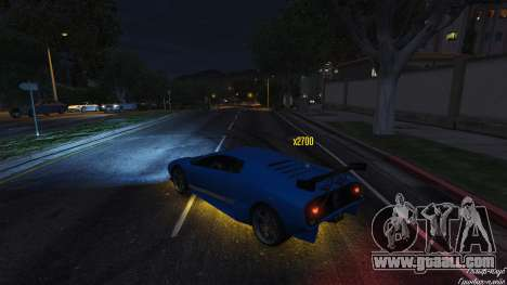 GTA 5 Drift HUD third screenshot
