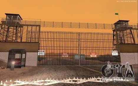 New Military Base v1.0 for GTA San Andreas fifth screenshot
