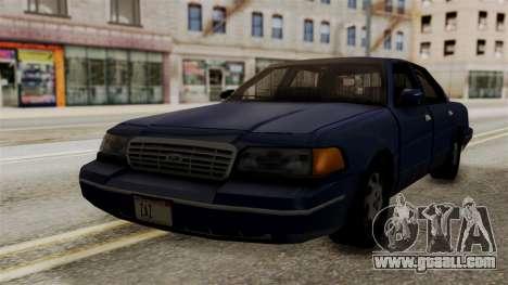 Ford Crown Victoria LP v2 Civil for GTA San Andreas