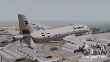 Airbus A320-200 Iraqi Airways for GTA San Andreas left view