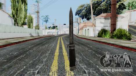 Allied Knife from Battlefield 1942 for GTA San Andreas second screenshot