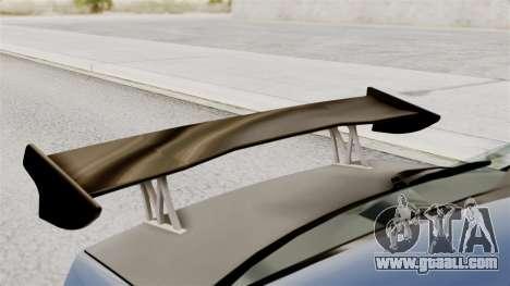 Mitsubishi Lancer Evolution v2 for GTA San Andreas back view