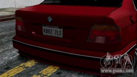 BMW M5 E39 SA Style for GTA San Andreas right view