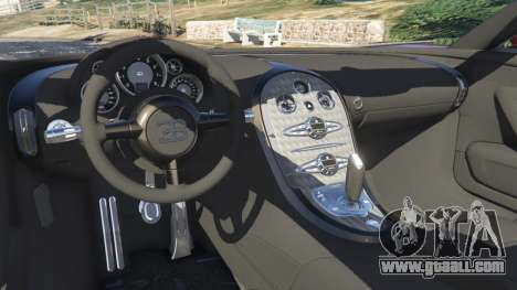 Bugatti Veyron Grand Sport v4.1 for GTA 5