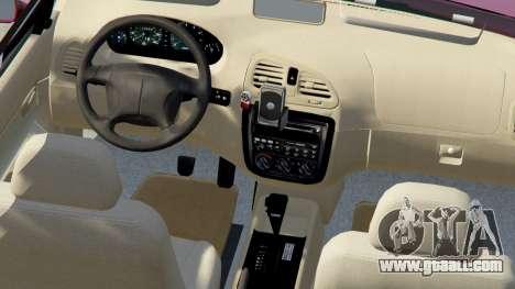 GTA 5 Daewoo Nubira I Wagon US 1999 - FINAL version right side view