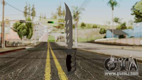 The knife for GTA San Andreas second screenshot