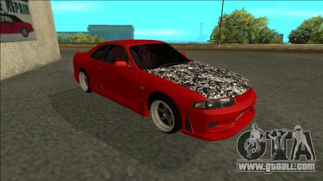 Nissan Skyline R33 Fairlady for GTA San Andreas left view