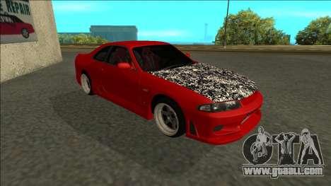 Nissan Skyline R33 Fairlady for GTA San Andreas left view