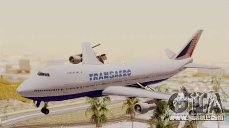 Boeing 747 TransAero for GTA San Andreas