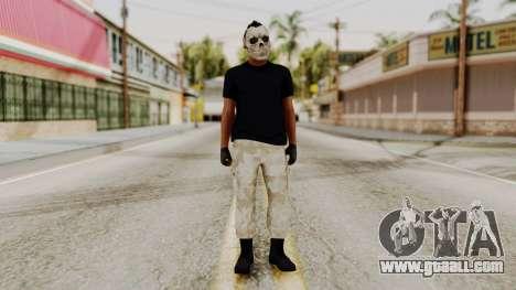 Skin DLC Ultimo Equipo En Pie for GTA San Andreas second screenshot