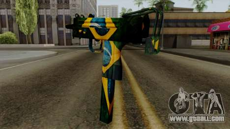 Brasileiro Micro Uzi v2 for GTA San Andreas second screenshot