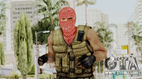 Terrorist for GTA San Andreas