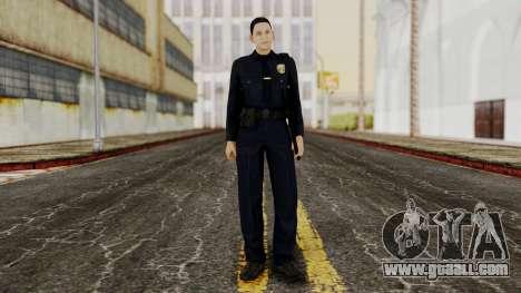 GTA 5 Cop for GTA San Andreas second screenshot