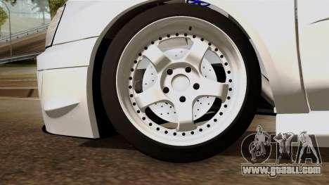 Subaru Impreza WRX STI for GTA San Andreas back left view
