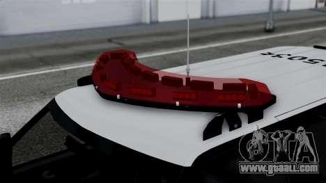 Chevrolet Blazer 2010 for GTA San Andreas right view