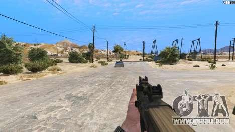 P-90 из Battlefield 4 for GTA 5