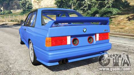 GTA 5 BMW M3 (E30) 1991 rear left side view