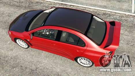 Mitsubishi Lancer Evolution X for GTA 5