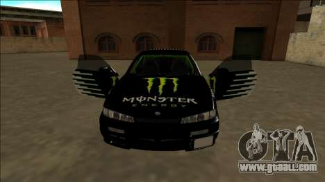 Nissan 200SX Drift Monster Energy Falken for GTA San Andreas wheels