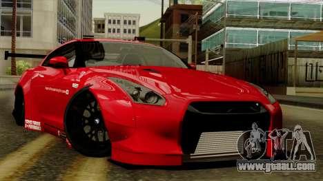 Nissan GT-R Liberty Walk Performance for GTA San Andreas