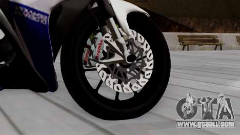 Yamaha YZF R-25 GP Edition 2014 for GTA San Andreas back left view