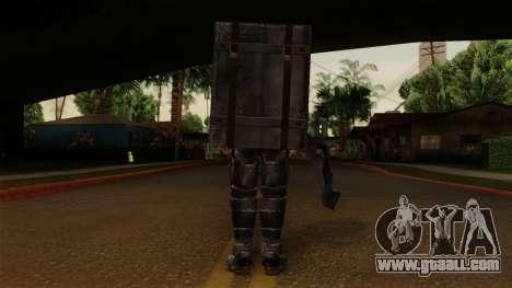 Chris Heavy Metal for GTA San Andreas third screenshot