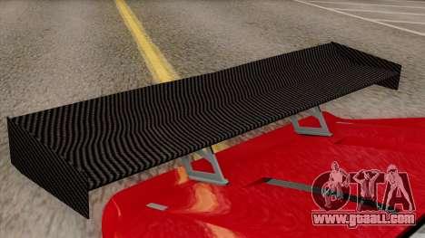 Vapid Bullet GT-GT3 for GTA San Andreas back view
