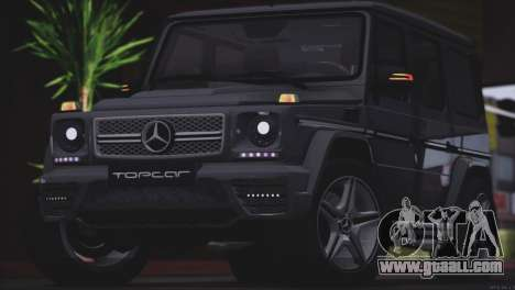 Mercedes Benz G65 AMG 2015 Topcar Tuning for GTA San Andreas back view
