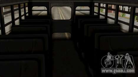 Prison Bus for GTA San Andreas right view