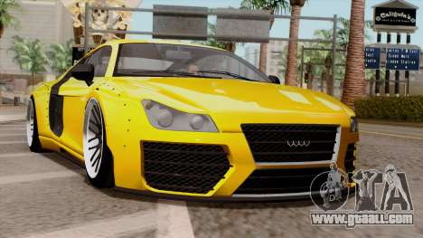 Obey 9F Liberty Works v1.0 for GTA San Andreas