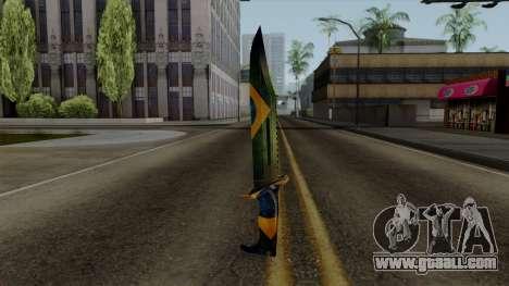 Brasileiro Knife v2 for GTA San Andreas