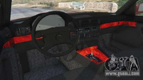 BMW 535i (E34) for GTA 5