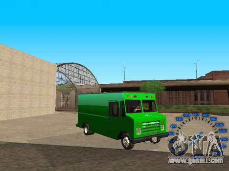 Boxville Sprite for GTA San Andreas back view